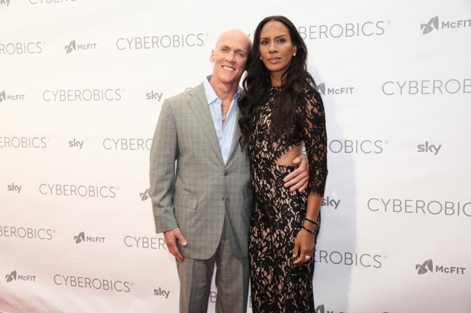 Trainer David Kirsch & Barbara Becker ©WORLD OF CYBEROBICS®