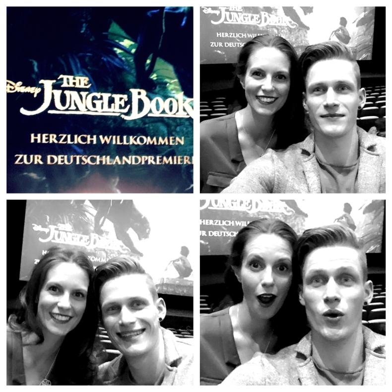 """Wir hatten sichtlich Spaß bei der """"The Jungle Book"""" Premiere ;) © katrin-lars.net"""