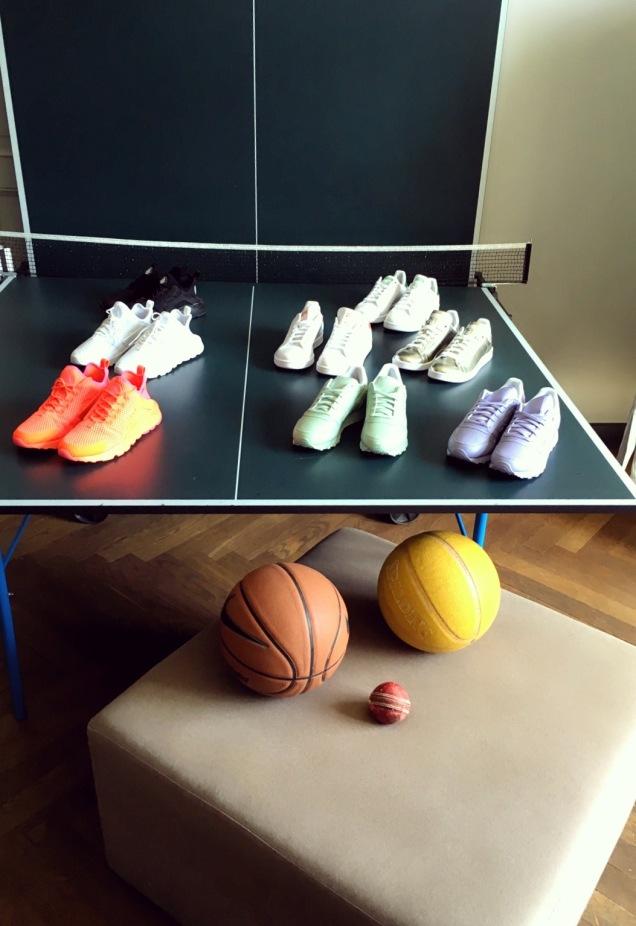 """Adidas"" sneaker im Zucker-Kommunikation Showroom ©katrin-lars.net"