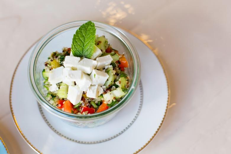 Frische Salate als Alternative zu allem Süßen ©Isabella Glutenfreie Pâtisserie