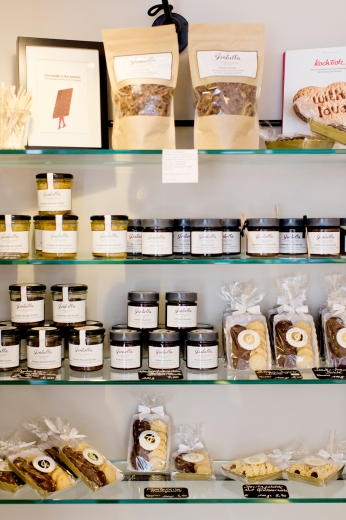 Produkte für zu Hause Granola, Konfitüre u.v.m. ©Isabella Glutenfreie Pâtisserie