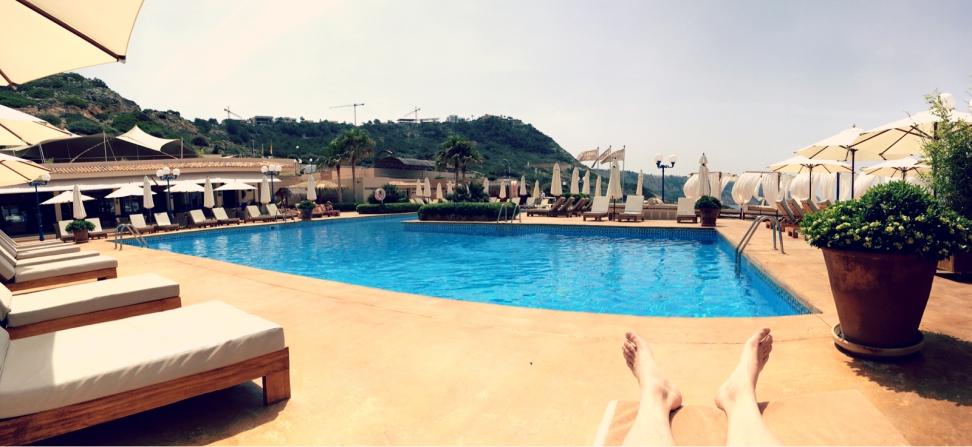 Am Pool lässt es sich gut entspannen. ©katrin-lars.net