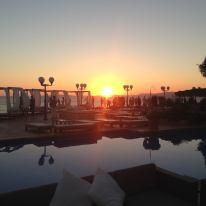 Im Mhares Sea Club erlebt man einen der schönsten Sonnenuntergänge Mallorca's. Der perfekte Ausklang eines wunderbaren Tages. ©Mhares Sea Club