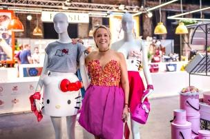 Designerin Marina Hoermanseder präsentierte ihre Helle Kitty Kollektion. ©BreadButter-by-Zalando
