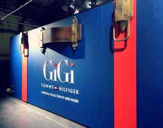 Gigi Hadid präsentierte ihre Tommy Hilfiger Kollektion. ©katrin-lars.net