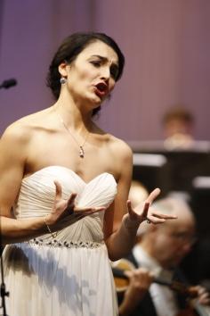Mezzosopranistin Anna-Doris Capitelli beim 45. Bundeswettbewerb Gesang © M. Heyde