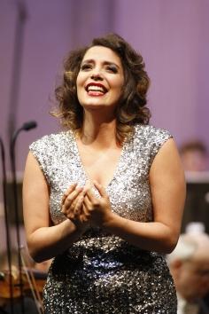 Sopranistin Elissa Huber beim 45. Bundeswettbewerb Gesang © M. Heyde