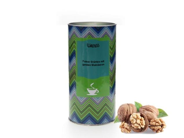 Wintertee: Grüntee Walnuss von Tea & More. © Tea & More Onlinehandel UG