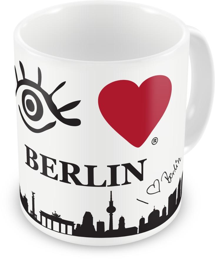 Da kann der Tag starten: der Eye-Love Kaffeebecher! © eye-love