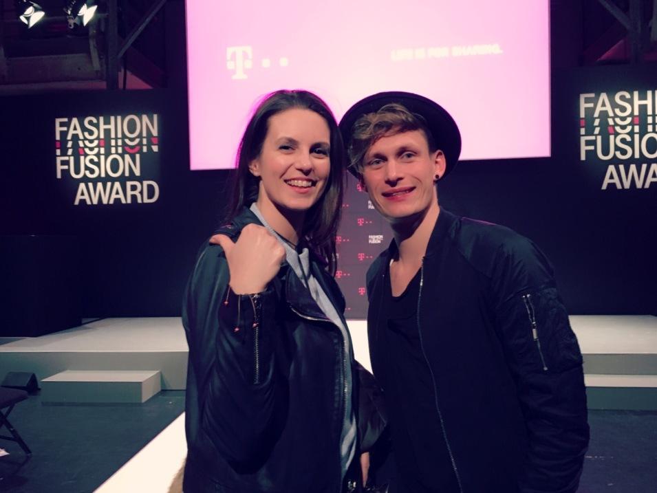 Sehr cool! Beim Telekom Fashion Fusion Award ©karin-lars.net