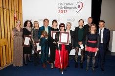 """Deutscher Hörfilmpreis 2017 - Sonderpreis der Jury für """"Löwenzahn"""" beim 15. Deutschen Hörfilmpreis am 21. März 2017 © DBSV/Franziska Krug"""