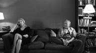 Patricia Clarkson als April und Bruno Ganz als Gottfried © Adventure Pictures Ltd.