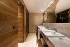 Badezimmer in der Penthouse Suite im Barut Acanthus & Cennet. © Barut Hotels