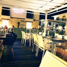 Cooles stylisches Ambiente im ELIA Restaurant & Lounge in Side. © katrin-lars.net