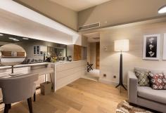 Gut durchgestyl: die Penthouse Suite im Barut Acanthus & Cennet. © Barut Hotels