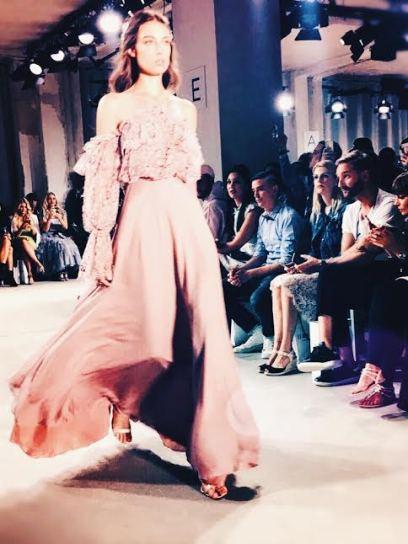 Traumhafte Abendkleider zeigte Ewa Herzog. © katrin-lars.net