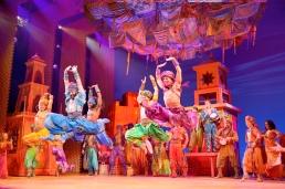 Aladdin - Marktplatz Szenenmotiv © Stage Entertainment 2017