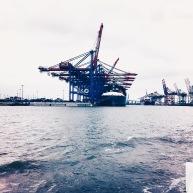 Der Hamburger Hafen.© Lars Wars