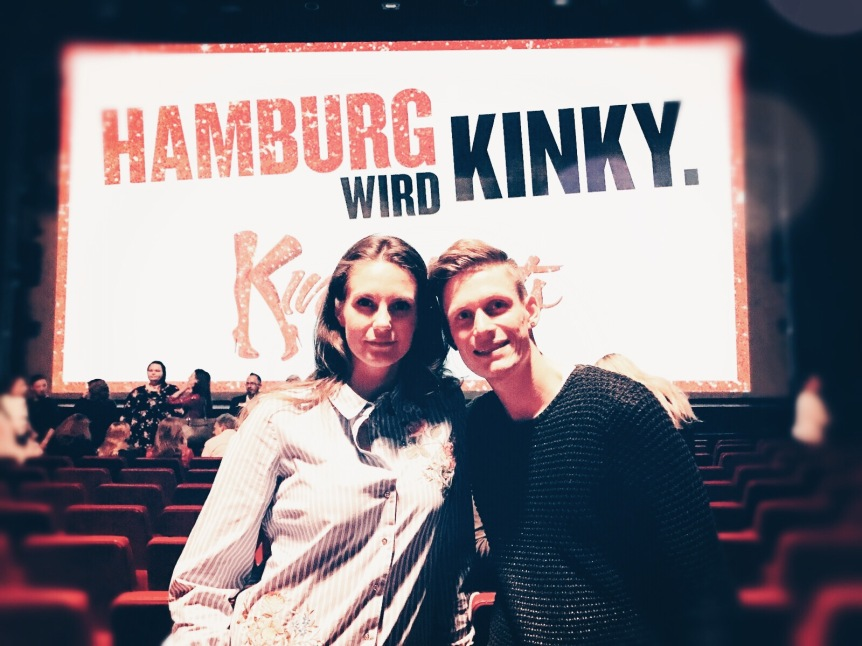 "Wir sind kinky, ab Dezember wird läuft ""Kinky Boots"" in Hamburg. © katrin-lars.net"