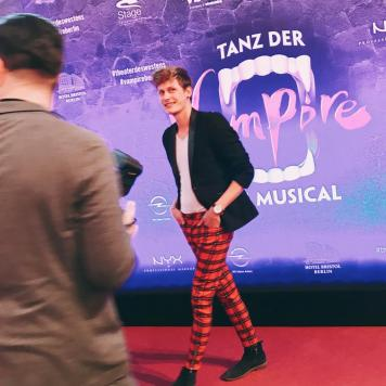 """Lars Urban bei """"Tanz der Vampire"""" Musical Premiere Berlin 21.10.2018 © larsurban.net"""