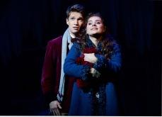 """""""Tanz der Vampire"""" Musical Berlin - Raphael Groß (Alfred) & Diana Schnierer (Sarah) © STAGE ENTERTAINMENT GMBH 2018"""