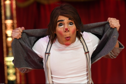 Clown Chistirrin beim Roncalli Weihnachtscircus © Semmel Concerts/Circus Roncalli 2018