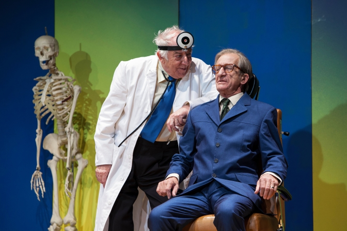 """Dieter Hallervorden im Stück """"Sonny Boy"""" © 2019 Schlosspark Theater Berlin / Halliwood Film GmbH"""